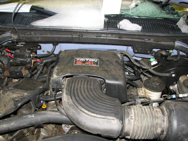 1998 FORD EXPEDITION REAR BLOWER FAN MOTOR #19869831