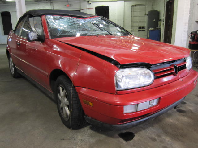 Parting out a 1998 Volkswagen Golf