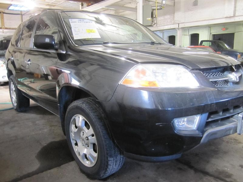 Parting out a 2002 Acura MDX