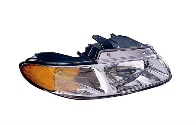 2000-2000 DODGE CARAVAN / PLYMOUTH VOYAGER / CHRYSLER TOWN & COUNTRY HEADLIGHT - PASSENGER SIDE ASY