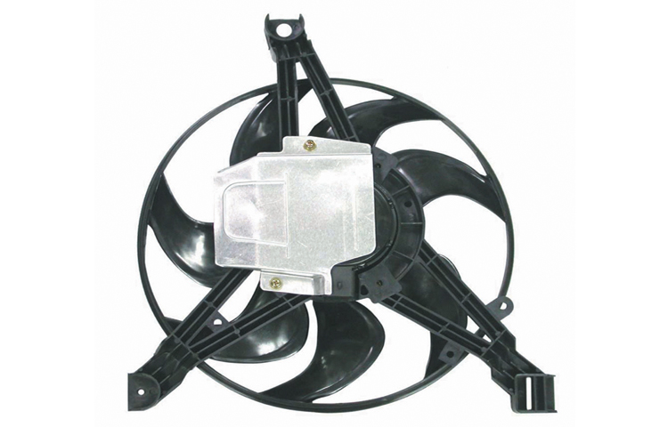 97-98 CHEVY VENTURE / OLDSMOBILE SILHOUETTE / PONTIAC MONTANA RADIATOR COOLING FAN - ASY RIGHT SIDE