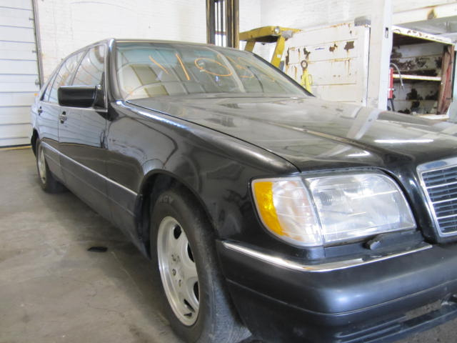 Parting out a 1998 Mercedes S-Class