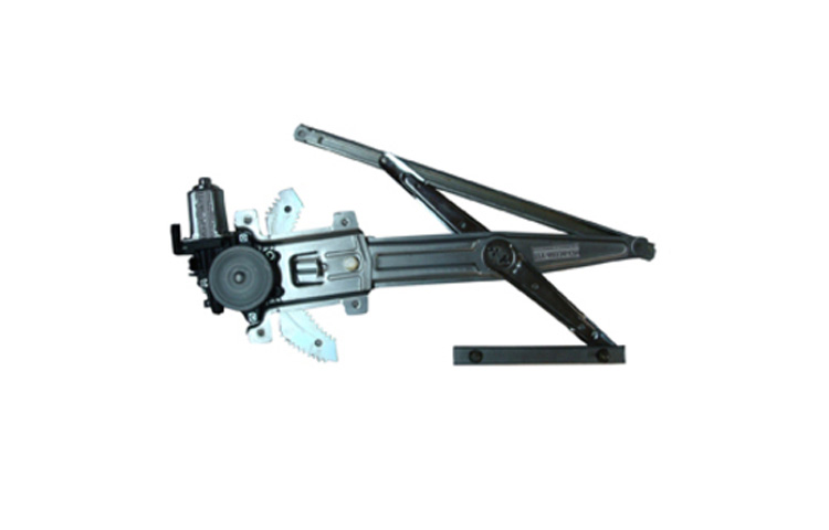 04-11 CHEVY COLORADO POWER FRONT WINDOW REGULATOR (W/ GEAR TYPE, W/ MOTOR) - DRIVER SIDE ASSEMBLY