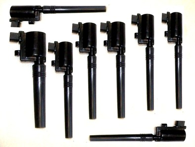 Ignition Coil Set of 8 for Ford Lincoln Jaguar