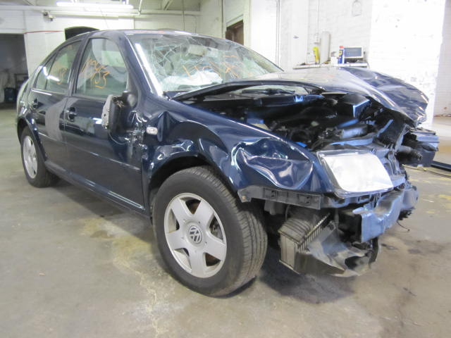 Parting out a 2002 Volkswagen Jetta