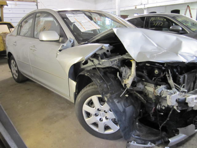 Parting out a 2007 Mazda 3