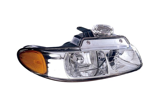 2000 CHRYSLER TOWN & COUNTRY / CARAVAN / 1996-2000 PLYMOUTH VOYAGER HEADLIGHT - PASSENGER SIDE ASY