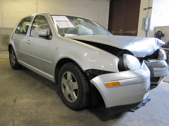 Parting out a 2002 Volkswagen Golf