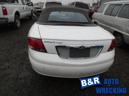 2006 Chrysler Sebring Fuse Box 21427286