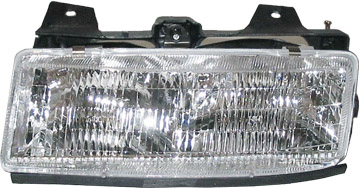 HEADLIGHT HEAD LIGHT LAMP 89-96 CHEVY CORSICA LEFT 1580099