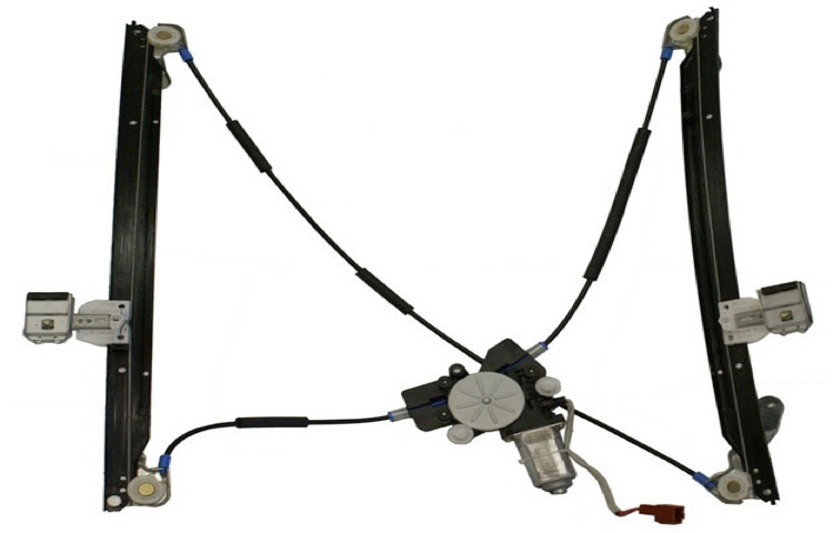 04-07 DODGE CARAVAN / PLYMOUTH VOYAGER / CHRYSLER TOWN & COUNTRY POWER FRONT WINDOW REGULATOR - LEFT
