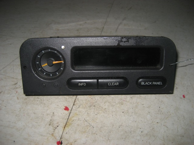 SID CENTER DISPLAY Saab 900 1998 98