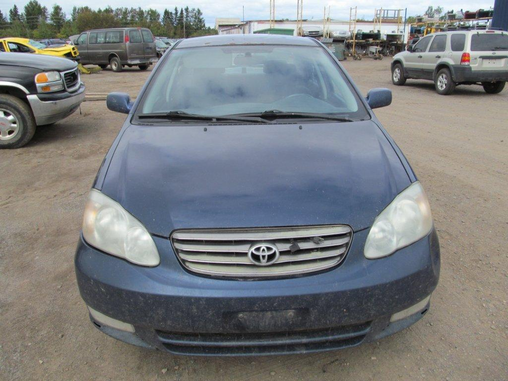 <em>Toyota</em>  <em>TOYOTA</em> <em>COROLLA</em> 2003 For Parts