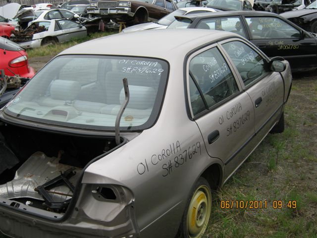 <em>Toyota</em>  <em>TOYOTA</em> <em>COROLLA</em> 2001 For Parts