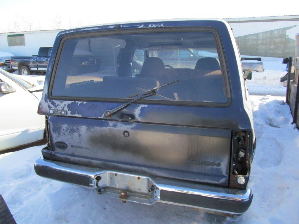 Ford  BRONCO II 1990 For Parts