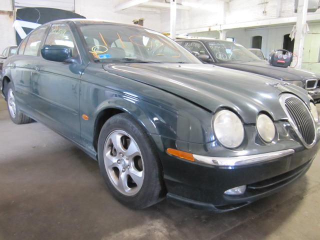 Parting out a 2000 Jaguar S Type
