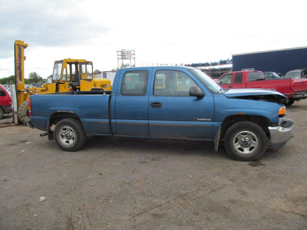 GMC  GMC SIERRA 1500 2001 For Parts 234937