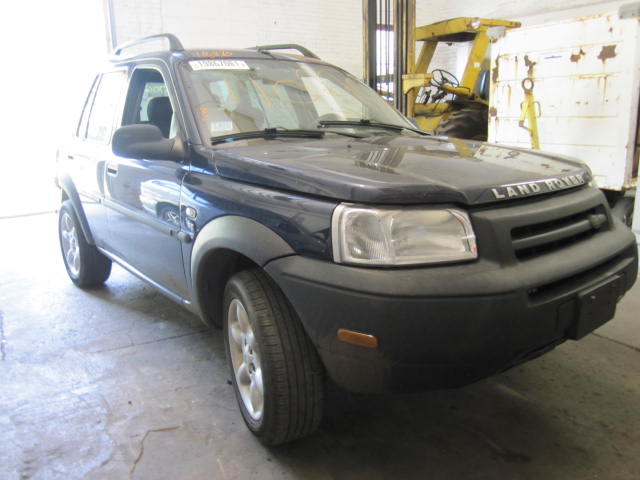Parting out a 2003 Land Rover Freelander