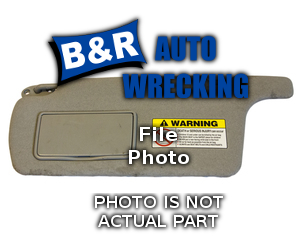 Audi A3 AUDI 2006 Right Side Sun Visor 268-11195R RGB853