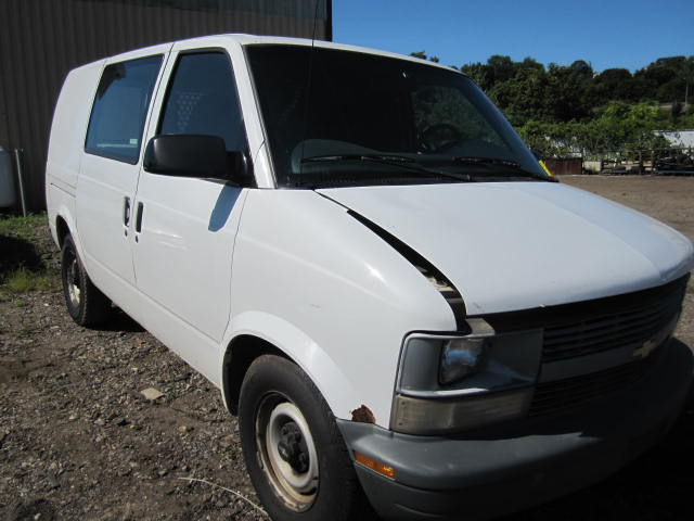 Parting out a 2000 Chevy Astro