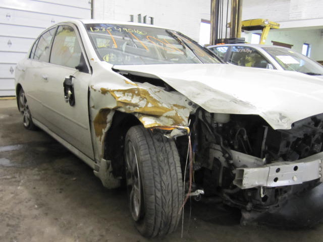 Parting out a 2005 Infiniti G35