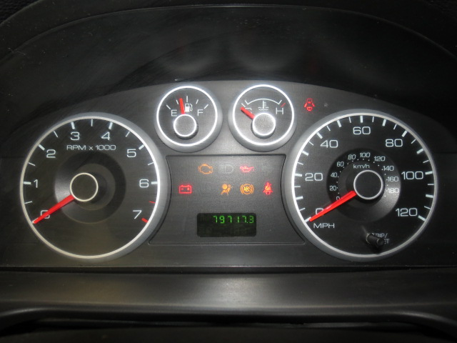 2006 ford fusion 79717 miles speedometer instrument. Black Bedroom Furniture Sets. Home Design Ideas