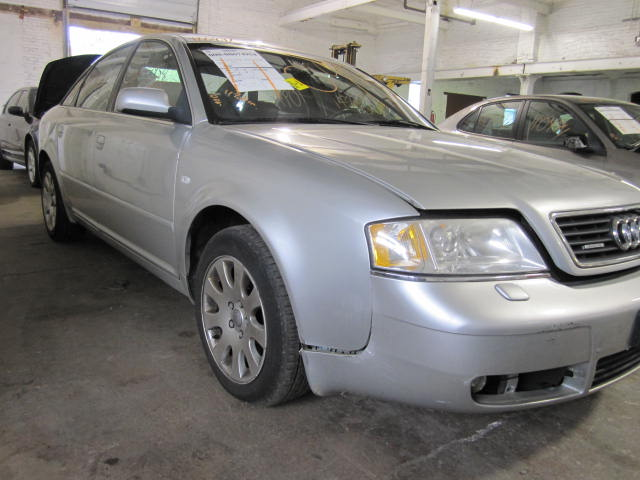 Parting out a 2000 Audi A6