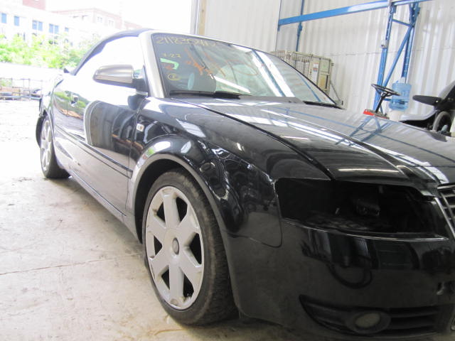 Parting out a 2005 Audi S4