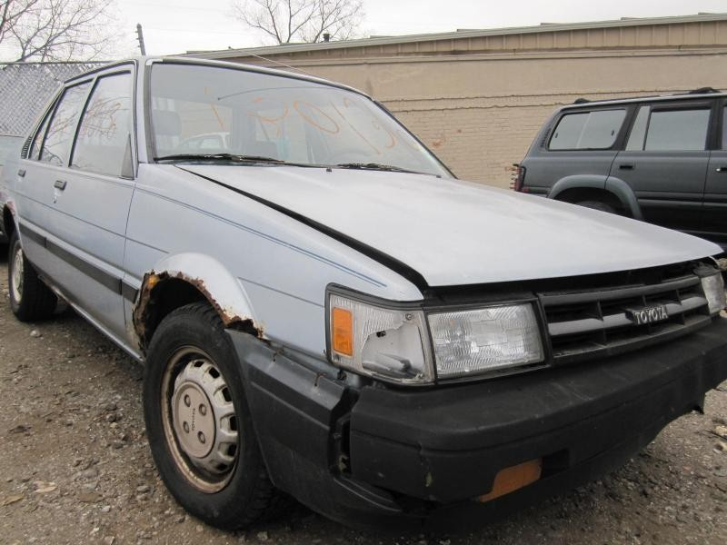Parting out a 1986 Toyota Corolla