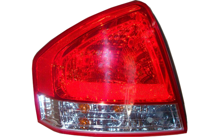 2009-2010 KIA SPECTRA (NEW BODY STYLE) TAIL LIGHT - DRIVER SIDE