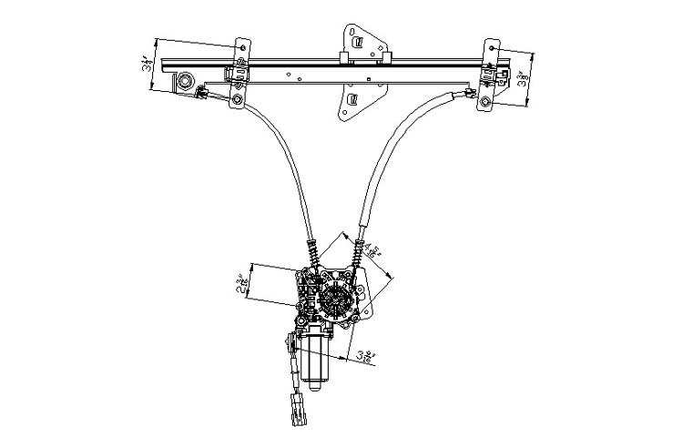 2000 dodge durango window regulator diagram