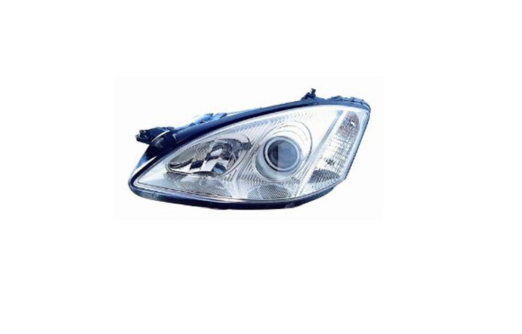 07-10 MERCEDES BENZ S-CLASS: 550, 600, 63 AMG, 65 AMG HEADLIGHT (HALOGEN TYPE) - DRIVER SIDE