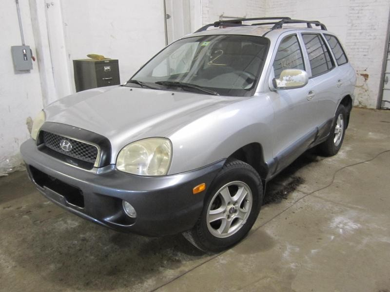 Parting out a 2001 Hyundai Santa Fe