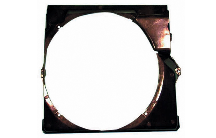 92-99 BMW 3-SERIES: 318 320I 323 325 328 / 92-99 BMW 3-SERIES: M3 RADIATOR COOLING FAN METAL SHROUD