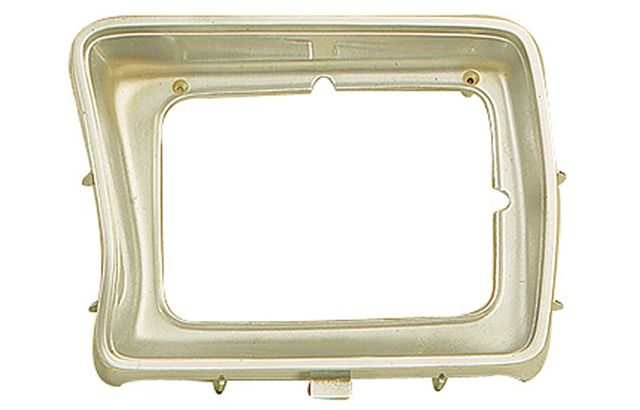 1978-1979 FORD F-SERIES: F150 PICKUP / 1978-1979 FORD BRONCO HEADLIGHT BEZEL - DRIVER SIDE