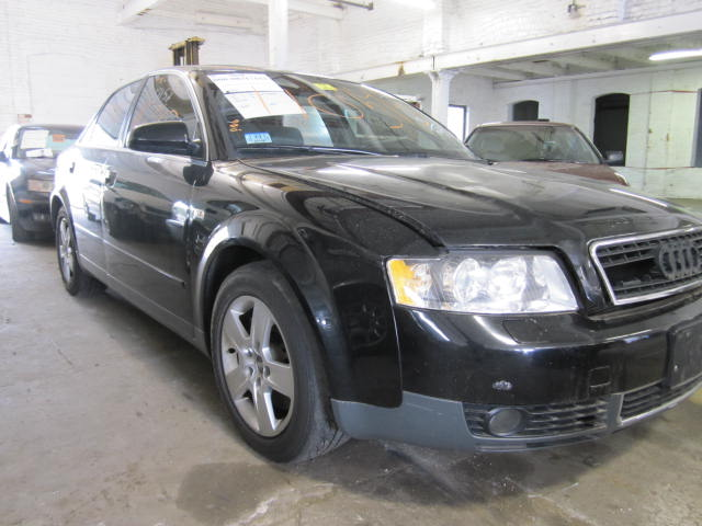 Parting out a 2002 Audi A4
