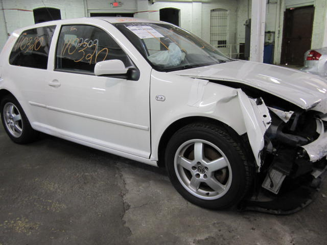 Parting out a 2001 Volkswagen Golf
