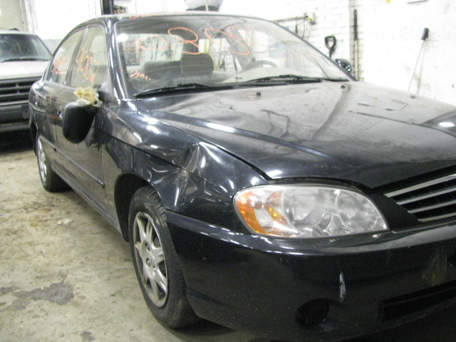 Parting out a 2002 Kia Spectra