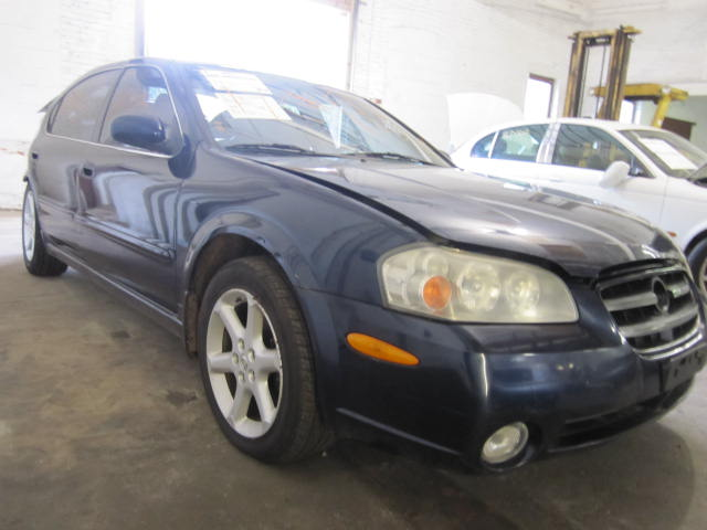 Parting out a 2002 Nissan Maxima