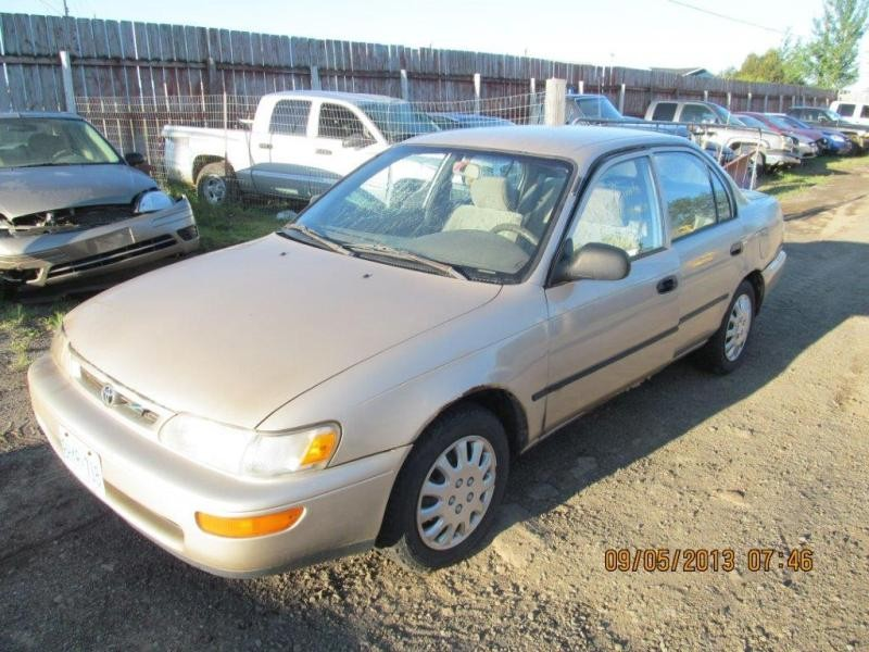 <em>Toyota</em>  <em>TOYOTA</em> <em>COROLLA</em> 1996 For Parts