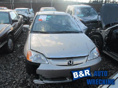 Honda CIVIC 2003 Front Seat Belt 210-52471 NDL413