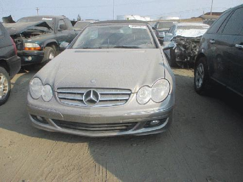 Mercedes-Benz CLK350 <em>2007</em> Rear Seat
