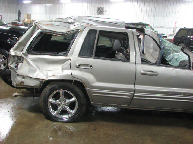 2001 JEEP GRAND CHEROKEE AUTOMATIC TRANSMISSION 4X4 1074627
