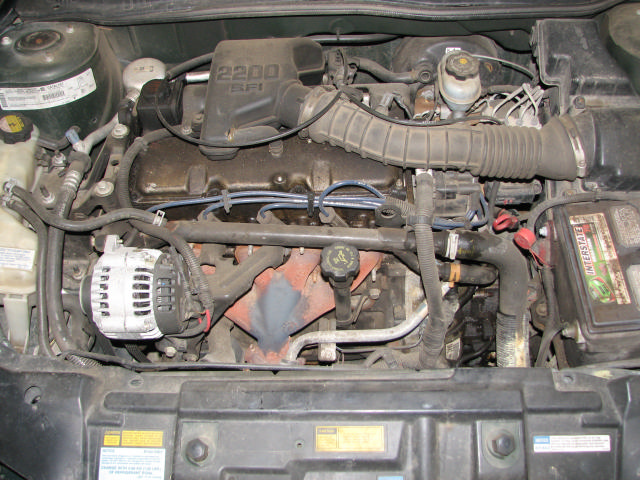 2000 Chevrolet Cavalier 2 2l Engine Motor  19963359