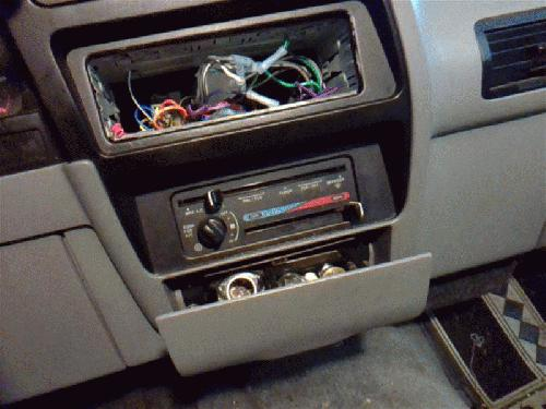 Ford BRONCO II <em>1990</em> Temperature Control