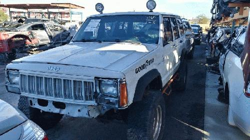 Jeep CHEROKEE 1992 Front Seat Track 203.AM8292 HHA736