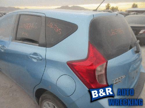 Nissan VERSA 2014 Left Side Quarter Panel Assembly 160-60536L LGL785