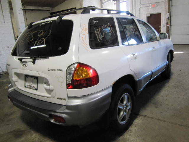 Parting out a 2002 Hyundai Santa Fe 110592