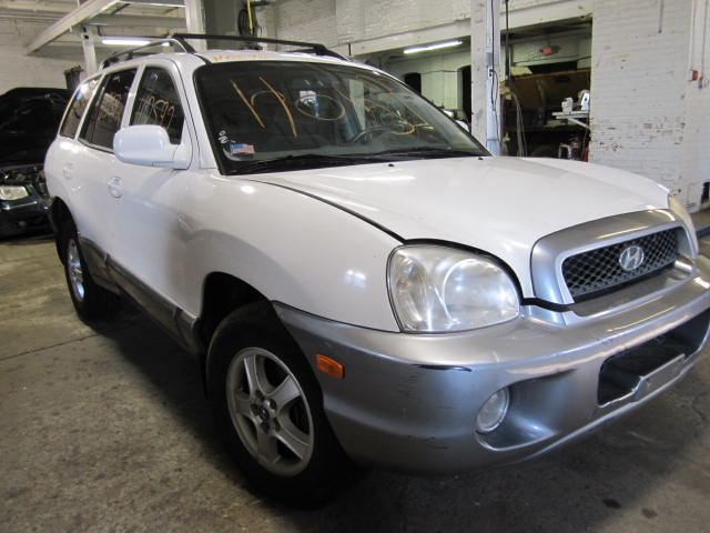Parting out a 2002 Hyundai Santa Fe