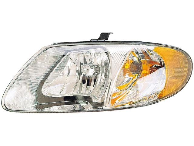 HEADLIGHT Dodge Caravan Town and Country Voyager 2001 01 02 03 04 05 06 07 Right
